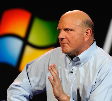 136647284 1 Ballmer says a tearful goodbye at his last Microsoft company wide meeting