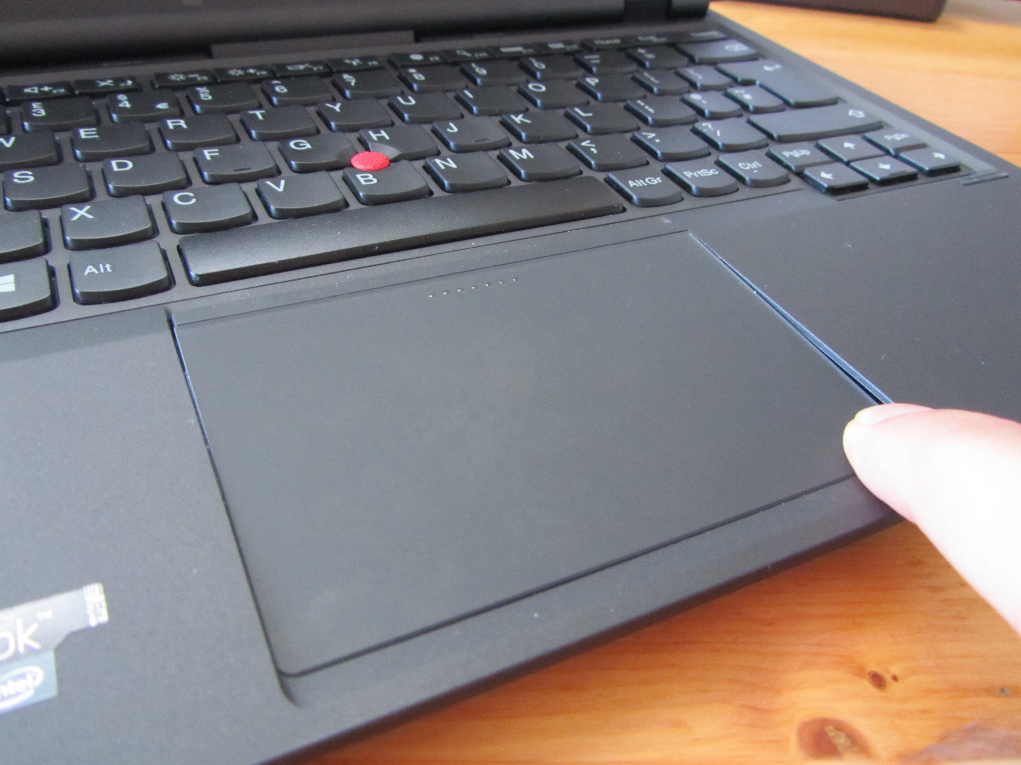 Helix trackpad Lenovos ThinkPad Helix: Nice specs, but its price and weight show whats wrong with hybrid PCs