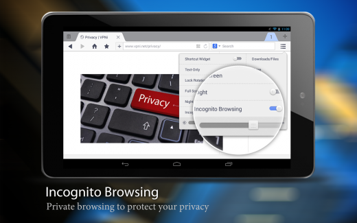 Incognito1 520x325 UC Browsers tablet version now allows seamless switch between incognito and regular browsing