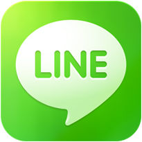 Line Logo Hey Facebook, chat app Line is introducing video ads that users will be paid to watch