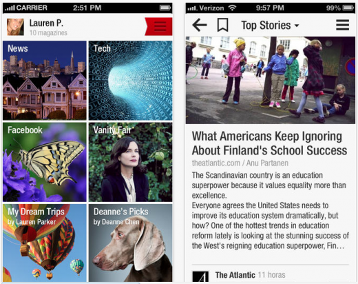 Screen Shot 2013 09 11 at 12.27.31 PM 520x412 Social reader app Flipboard now has 85 million registered users (Update)