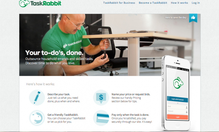 TaskRabbit 730x439 10 Web apps to help you plan and promote a great event