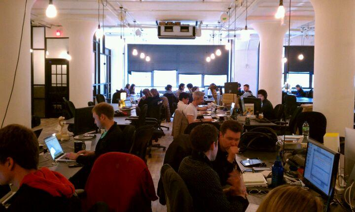 WeWork1 The top 20 tech hangouts in New York City