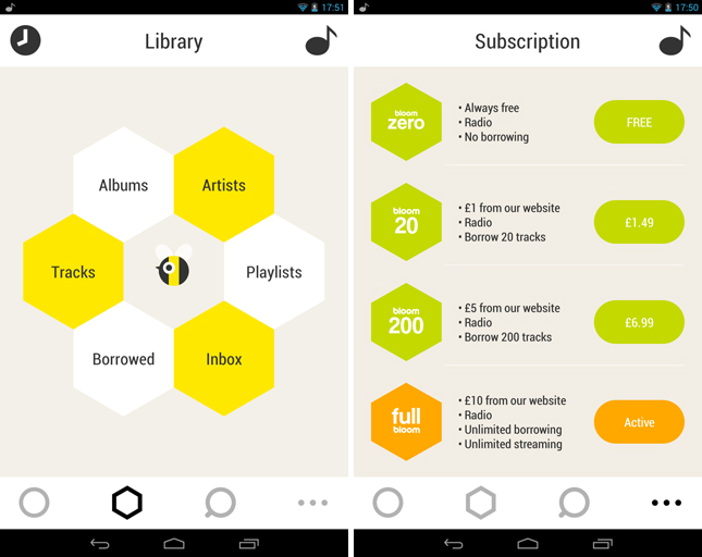 bloom3 Bloom.fm brings its stunning on demand music streaming app to Android in the UK