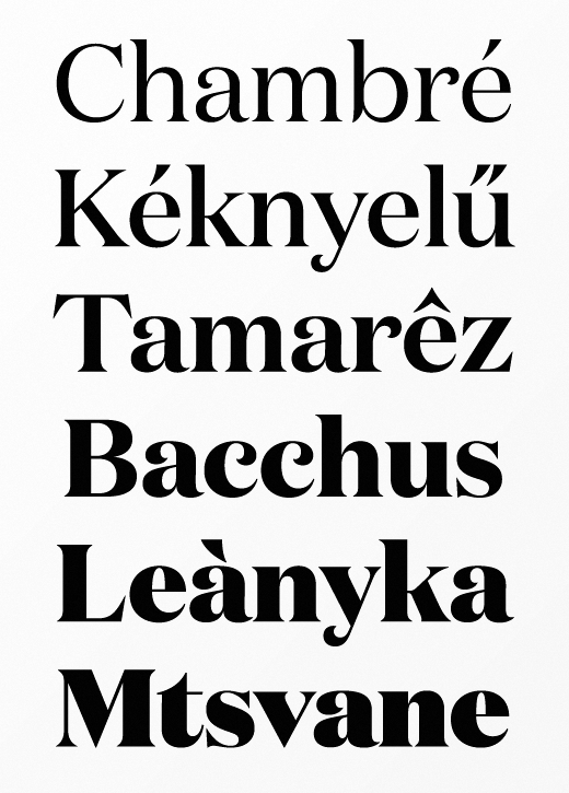 domaine 20 of the most beautiful typefaces released last month