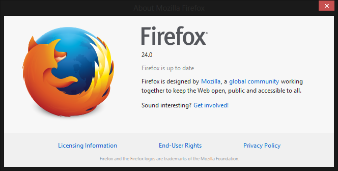 firefox 24 You can download Firefox 24 for Windows, Mac, and Linux right now; official launch tomorrow
