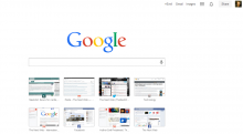 google new tab page 220x121 Why the enterprise cloud will kill Mobile Device Management once and for all