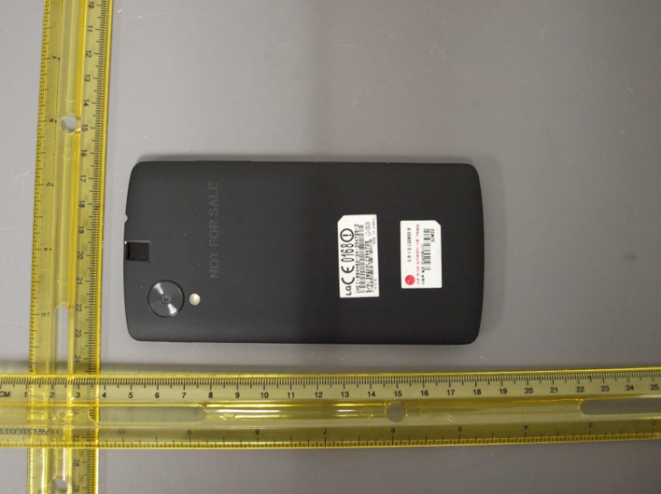 nexusae0 2013 09 12 10 32 58 https   apps.fcc .gov eas GetApplicationAttachment.html id20414551 730x546 This is what the new Nexus 5 smartphone from LG looks like