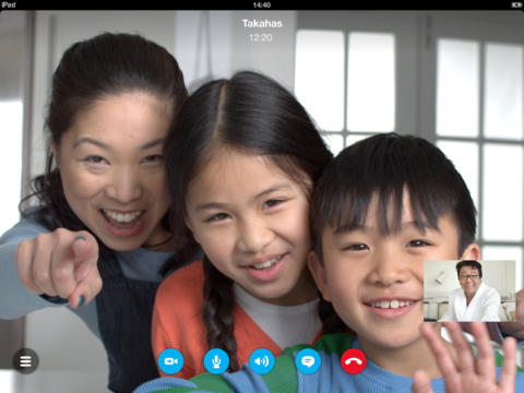 Skype for iPad and iPhone get ability to join group voice calls, but no iOS 7 redesign