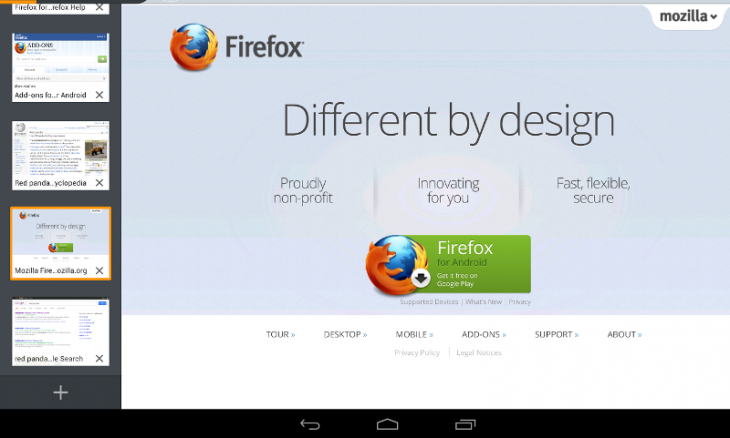 unnamed 730x438 Firefox Beta for Android has guest browsing mode, so you can share your phone and safeguard your session