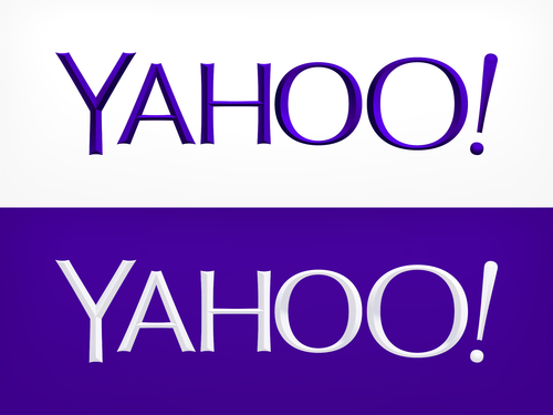 yahoo new logo 9 major logo redesigns: Yahoo and beyond