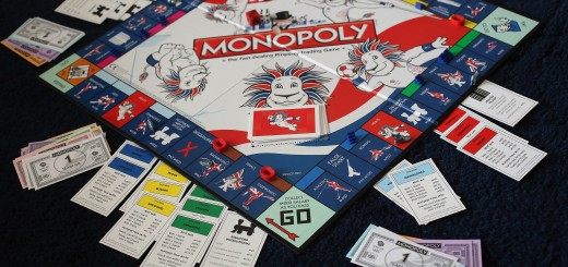 London 2012 - Olympics Monopoly Board