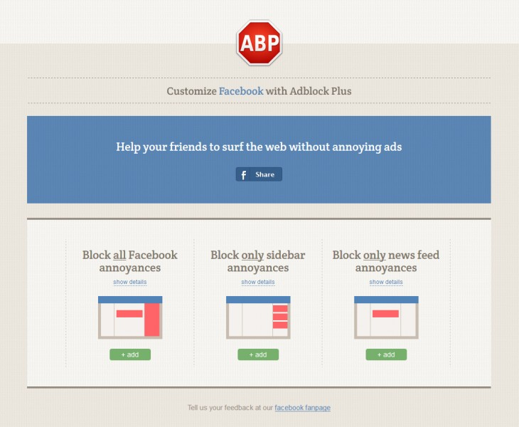 Not just ads: Adblock Plus now lets you block 21 other 'annoyances' in Facebook's News Feed and sidebar