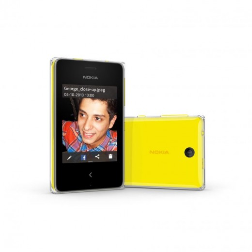 700 nokia asha 500 yellow photo camera lens 520x520 Nokia announces Asha 500 for $69, Asha 502 for $89, and Asha 503 for $99