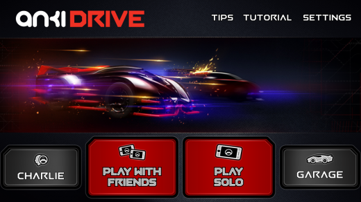 Anki Drive App Home Screen 520x292 Anki Drives amazing AI remote controlled cars go on sale October 23 for $199 at Apple Stores