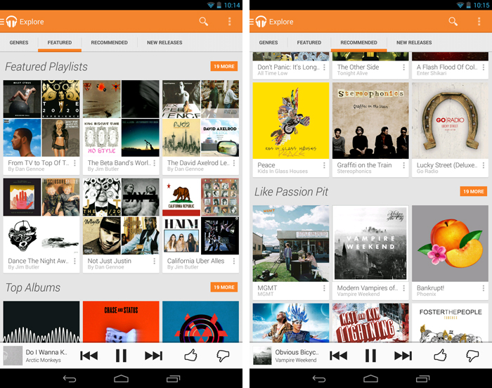 Exploreandroid An in depth guide to Google Play Music All Access