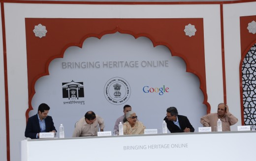 Google India1 520x327 Google is bringing the Taj Mahal and 99 other heritage sites from India to Street View