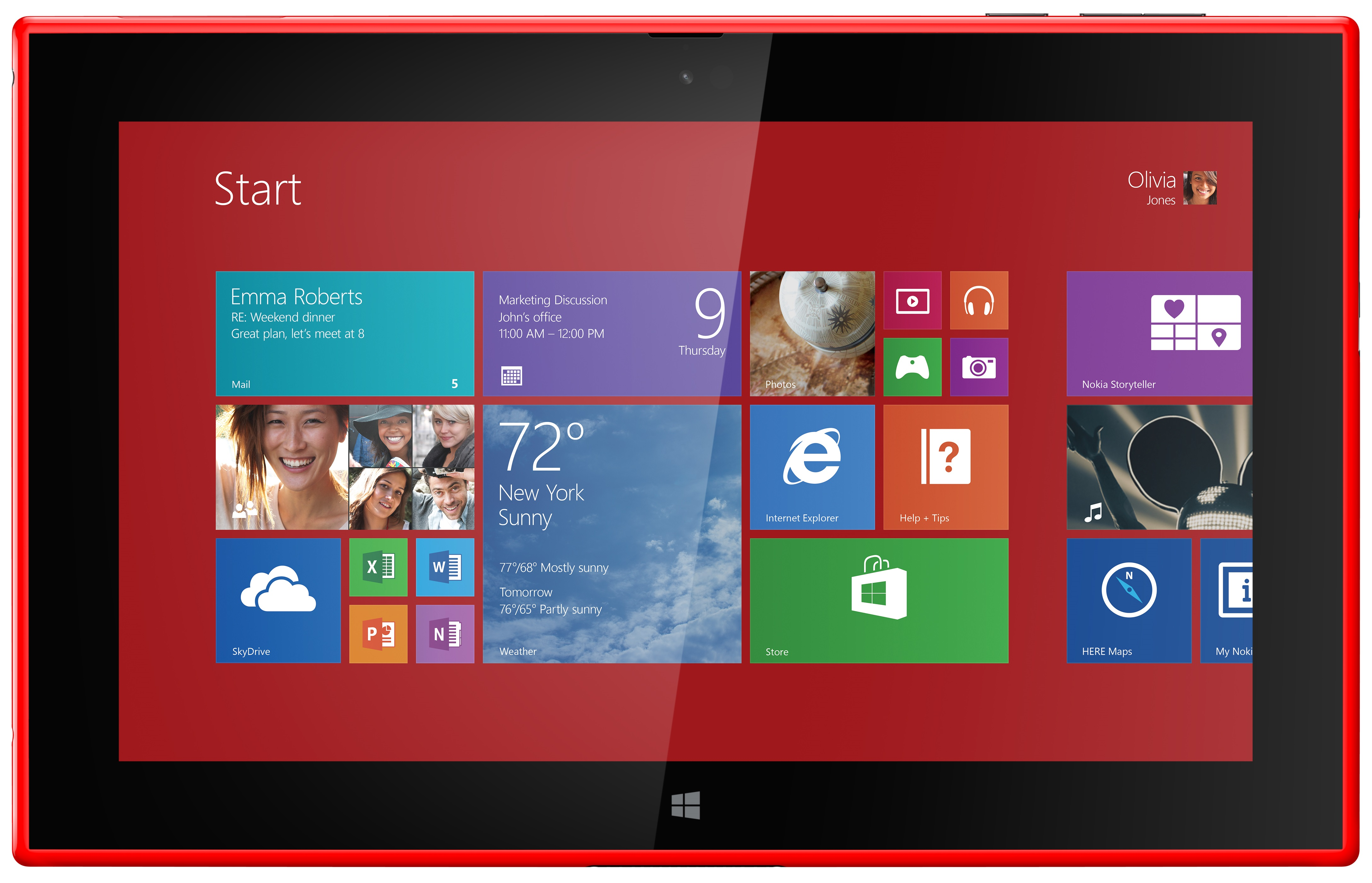 1080p Windows 8.1 Tablet The Windows rt 8.1 Device Will