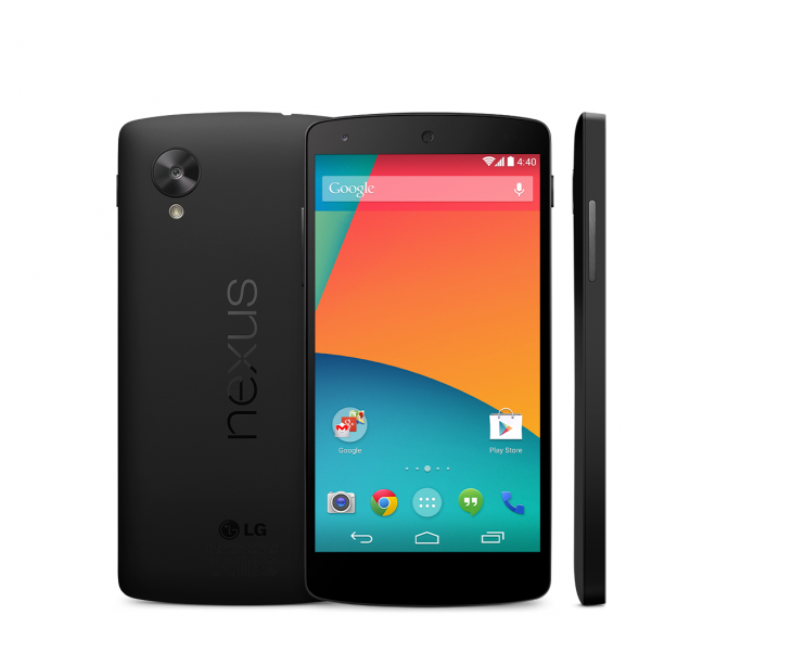 Nexus 5 Leaked Press Render Google Server 01 730x602 Googles Nexus 5 ships today: 4.95 inch display, Android 4.4 KitKat, 16GB for $349 and 32GB for $399