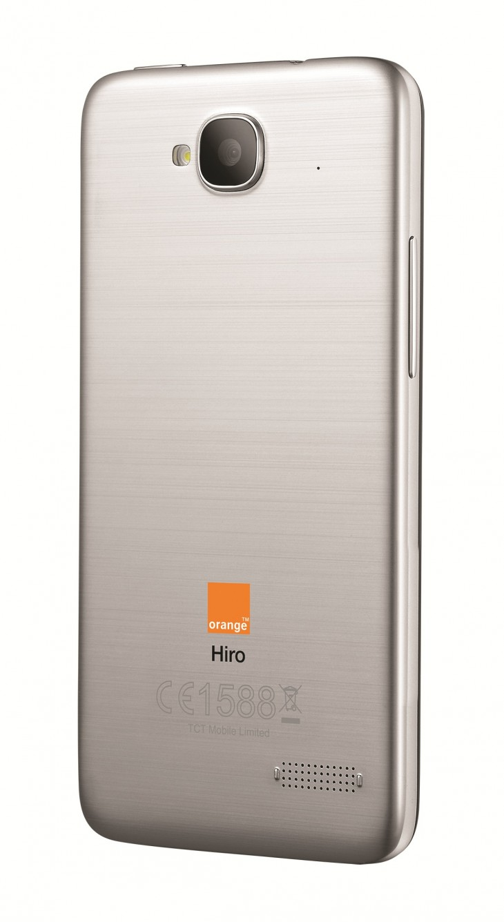 Orange Hiro Back 730x1336 Orange aims 4G Android powered Yumo and low cost Hiro at Europe, but UK residents need not apply