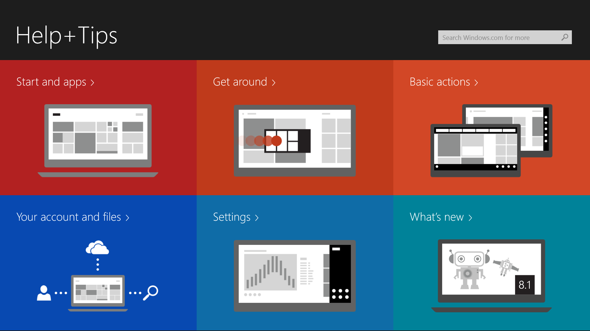 Screenshot 15 Microsoft Windows 8.1 review: A more customizable, coherent experience with a nod to desktop diehards
