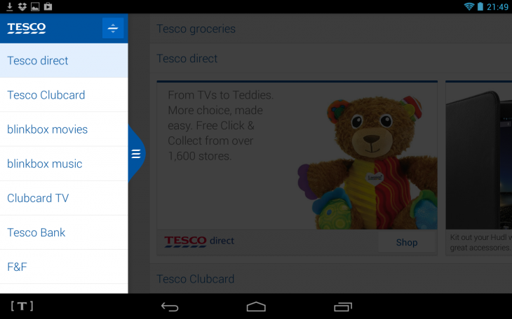 Screenshot 2013 10 02 21 49 21 730x456 Hudl: With Tescos tablet, you get a lot of bang for your buck