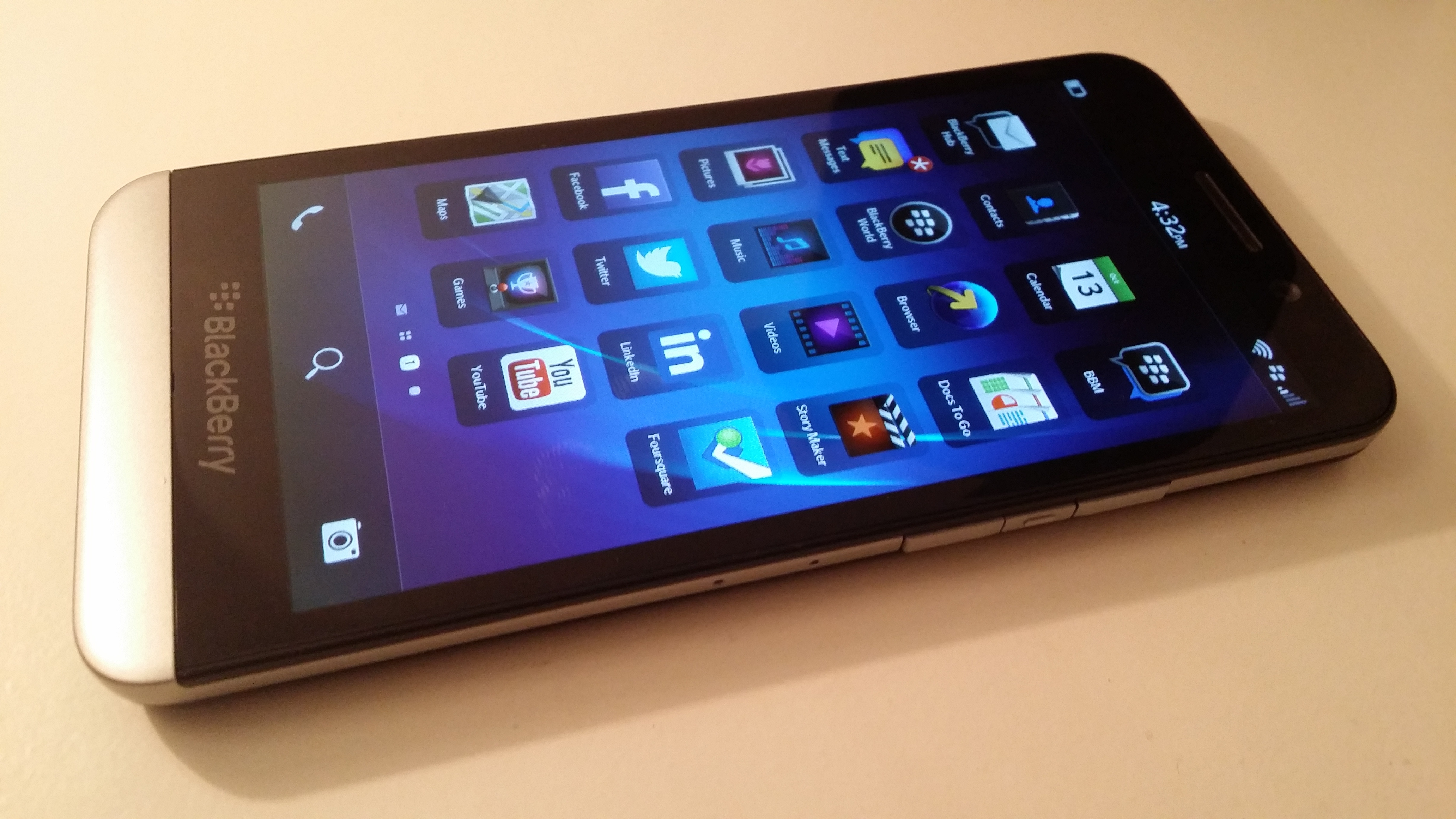 Z30 side BlackBerry Z30 review: The problem with this phone isnt the hardware. Or the software.