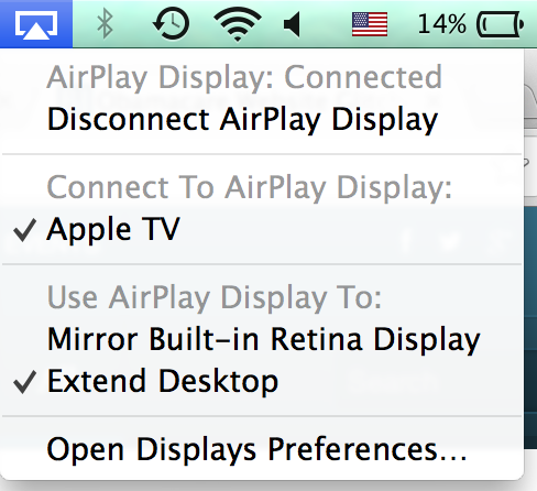 airplaydisplay osxmavericks Review: OS X Mavericks
