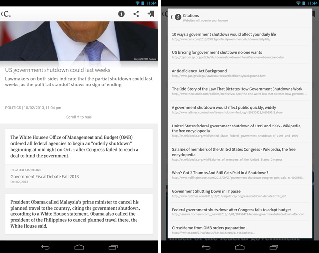 circa2 Circa brings its news reader app to Android, alongside iPhone redesign and breaking news updates