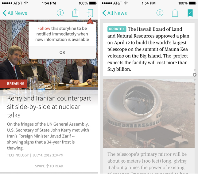 circaios2 Circa brings its news reader app to Android, alongside iPhone redesign and breaking news updates