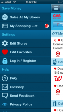 favado 1 220x391 Savings.com's new Favado app crowdsources the best sales at your local grocery stores
