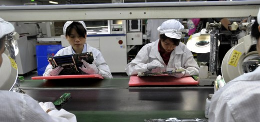 foxconn 520x245 Foxconn broke its own labor rules as interns worked overtime to assemble the PlayStation 4