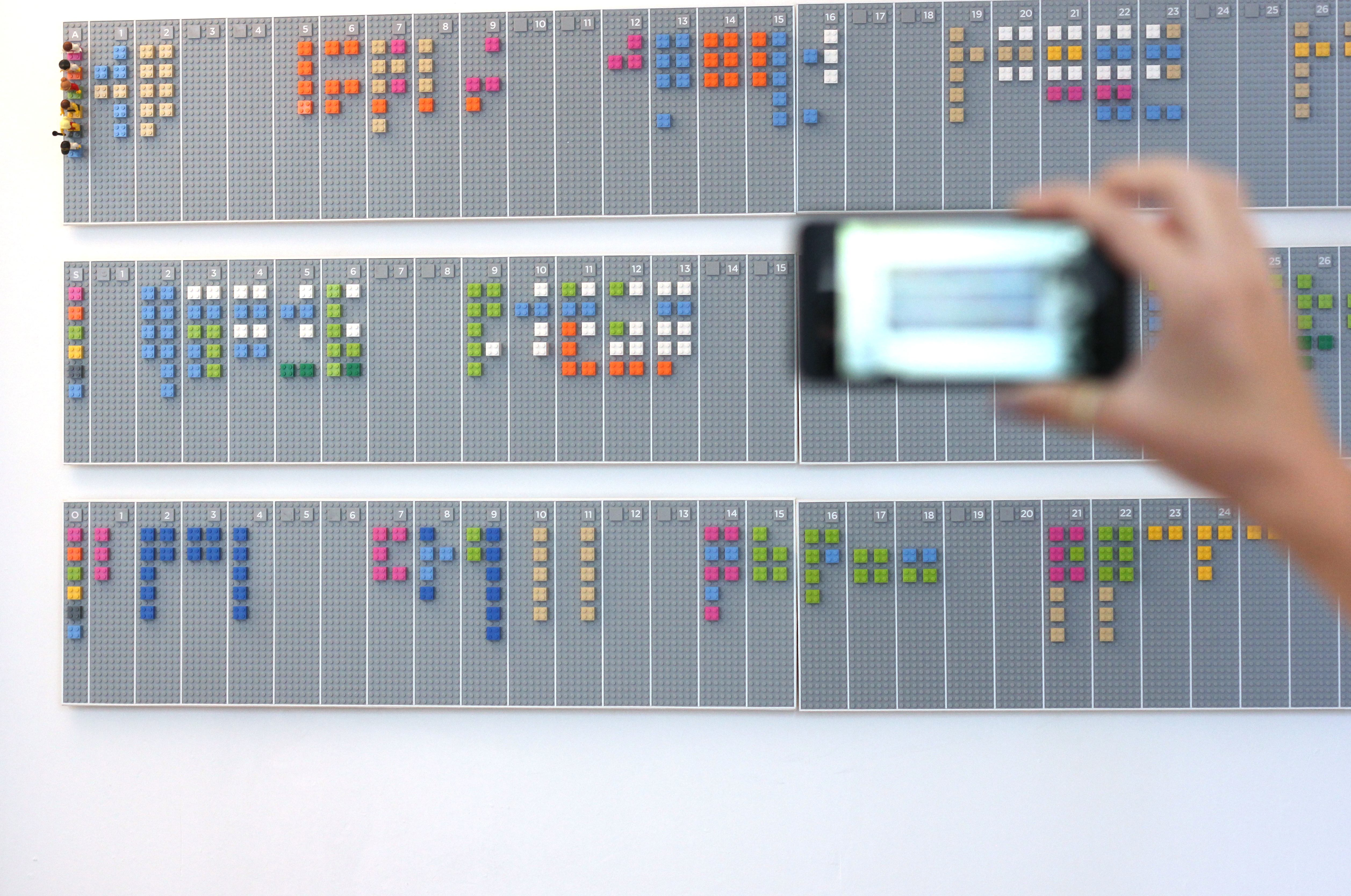lego This awesome LEGO wall planner syncs digitally with your Google Calendar account