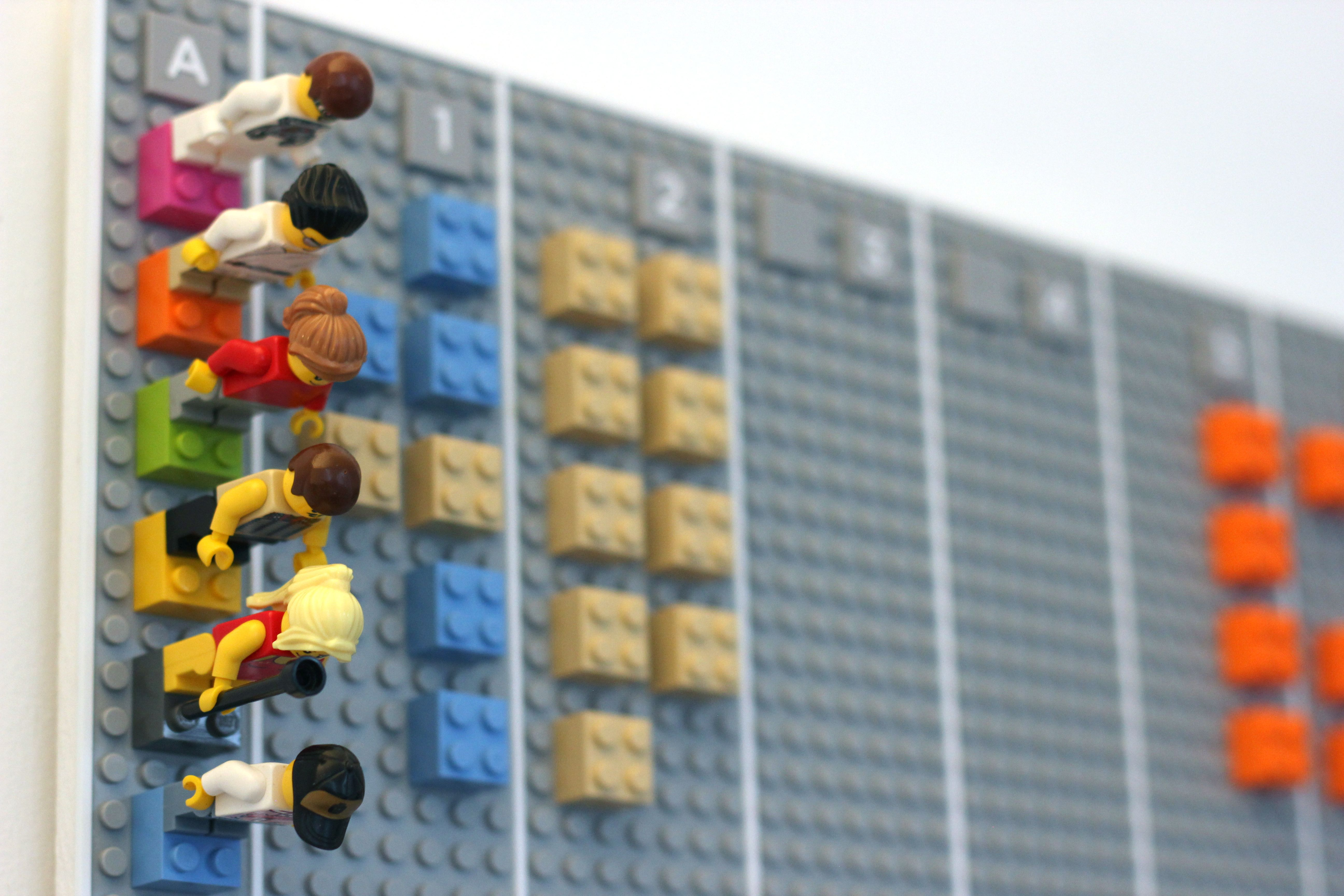 lego3 This awesome LEGO wall planner syncs digitally with your Google Calendar account