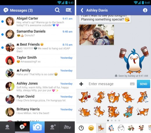 messageme 520x457 22 of the best mobile messaging apps to replace SMS on your smartphone