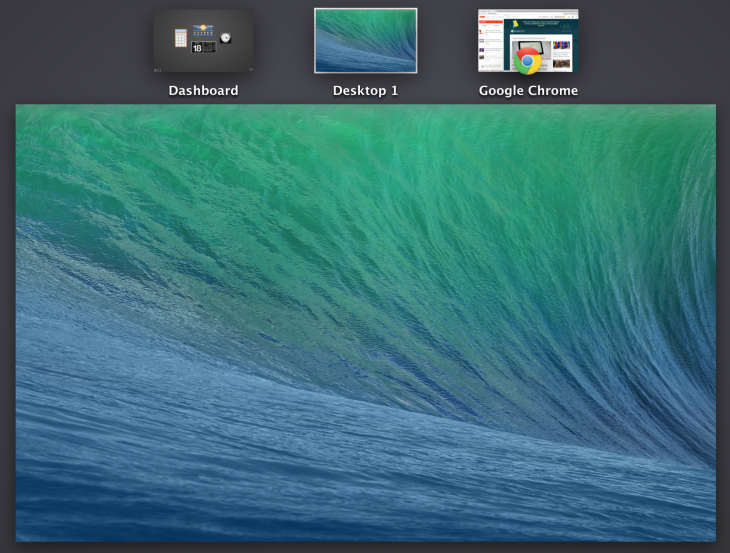 multidisplay mavericks 730x553 Review: OS X Mavericks