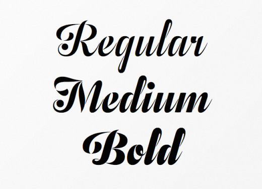 odesta 520x376 20 of our favorite typefaces from this past month