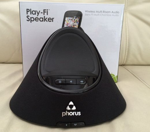 phorus ps1 520x458 Phorus Play Fi Speaker review: High fidelity wireless audio for Android and iOS with limited options