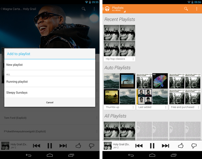 playlistsandroid An in depth guide to Google Play Music All Access