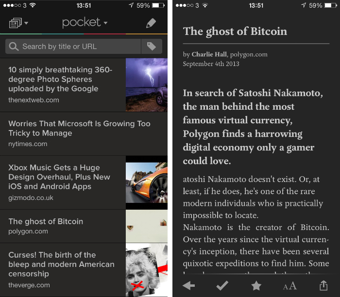pocket1 10 must have iPhone apps for keeping on top of the news
