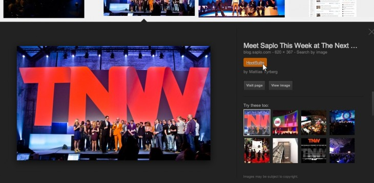 tnw hootlet screenshot 730x358 HootSuite refreshes its Hootlet Chrome extension to help you share things from the Web