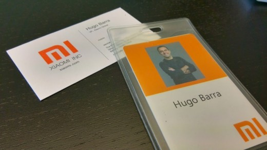 xiaomi 1 520x292 Former Android exec Hugo Barra reflects on his first week at Google like Xiaomi