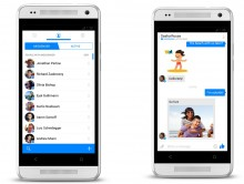 1 horz 220x166 Redesigned Facebook Messenger with phone number integration opens to Android and iOS users
