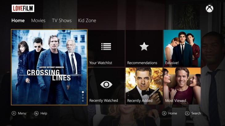 12 730x410 Lovefilm app now available to download for early Xbox One adopters