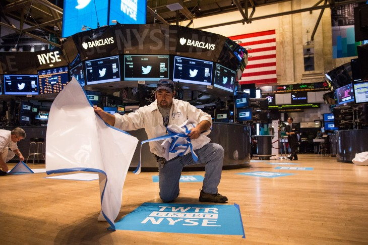 187232866 730x486 In pictures: Twitter kicks off its IPO on the New York Stock Exchange