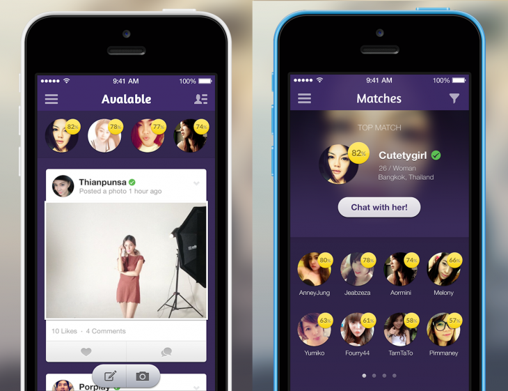 Avalable 1 730x561 Avalable aims to be a Facebook for singles with its worldwide launch of iOS and Android apps