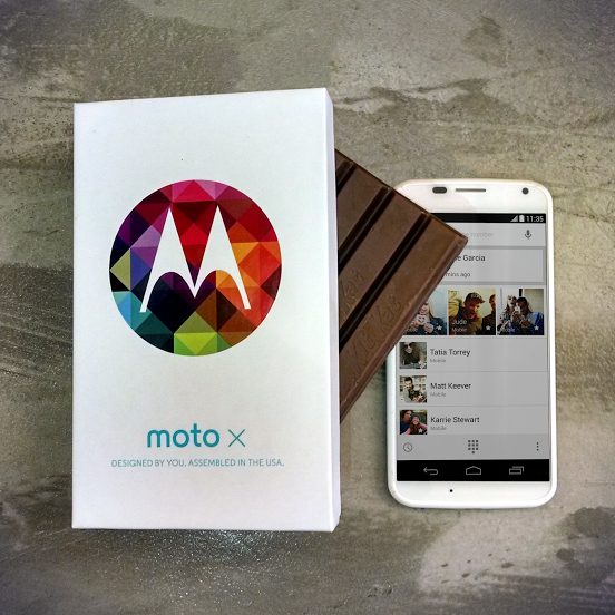 Ed cal c1 Motorola begins rolling out Android 4.4 KitKat for the Moto X on Verizon, less than three weeks after debut
