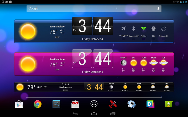 HDWidgets 730x456 Roundup: Black Friday mobile app deals for iOS and Android