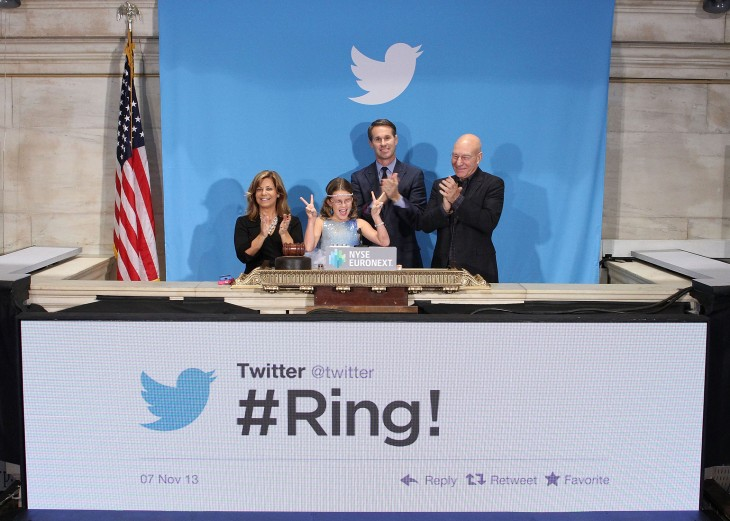 In pictures: Twitter kicks off its IPO on the New York Stock Exchange