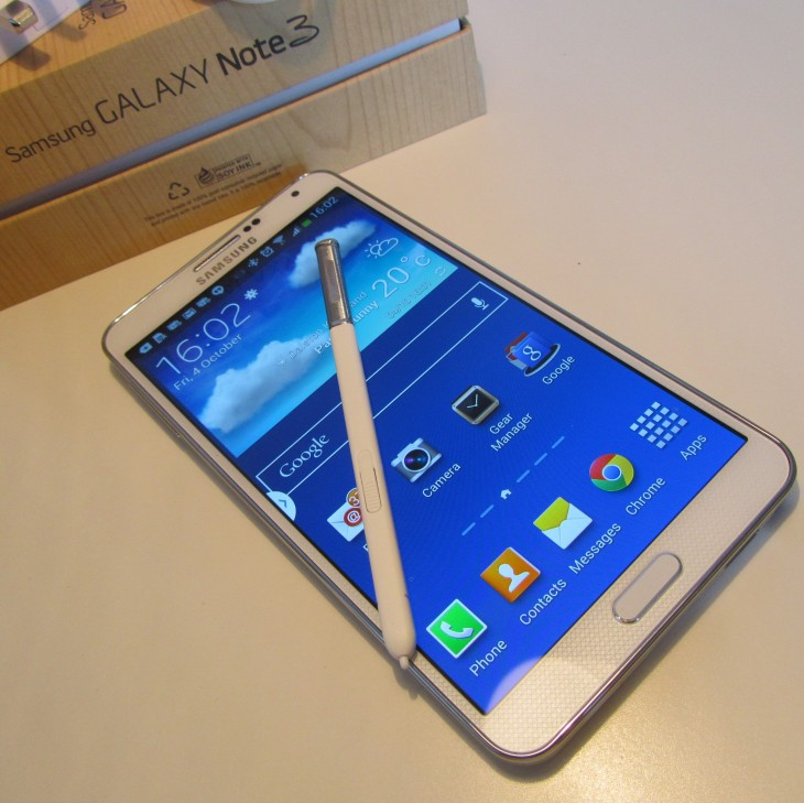 Note3 SPen 730x729 Samsung can be providing US based Galaxy Note three owners $50 within credit for the Google Play store